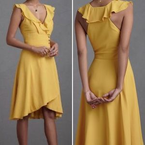 Anthropologie Quillaree Macaron Shoppe Dress